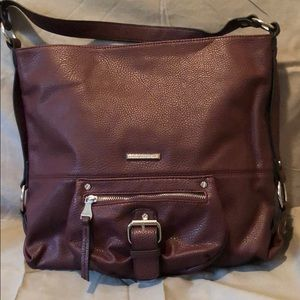 Dana Buchman Tote Bag Plum Color